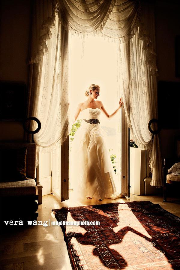 ''Vera Wang brudklänning''