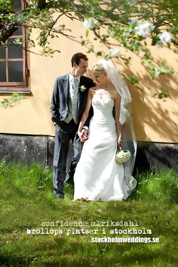 Bröllops Platser i Stockholm Ulriksdahl