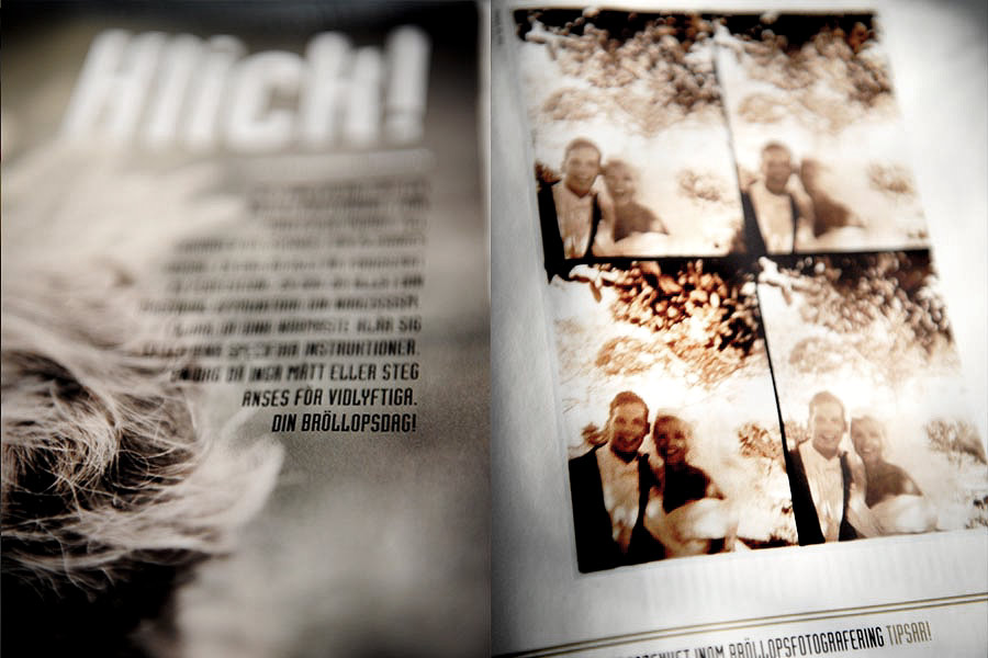 Lifestyle magazine Malibu wedding photo