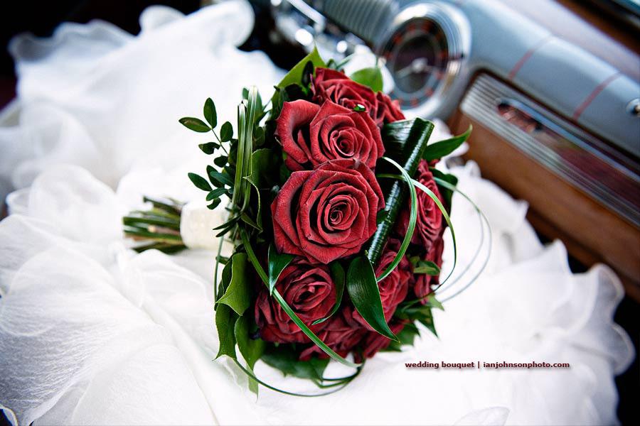 Bröllop brudbukett