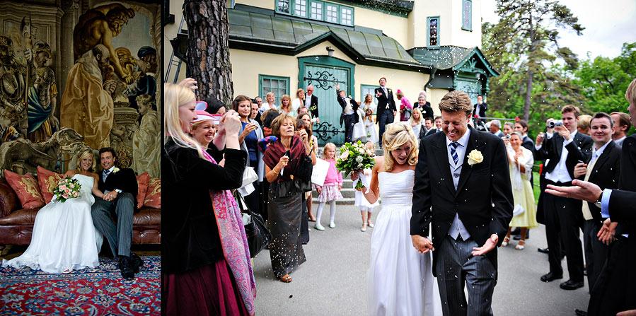 Villa Pauli and Djurshom kapell Wedding