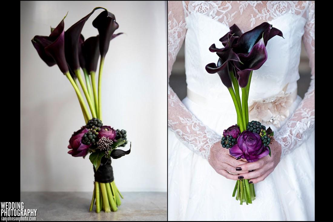 florist kompaniet brudbukett