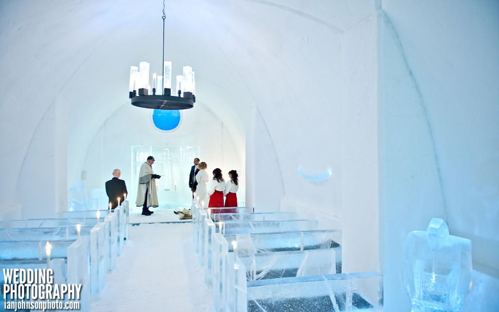 vinterbröllop ice hotel