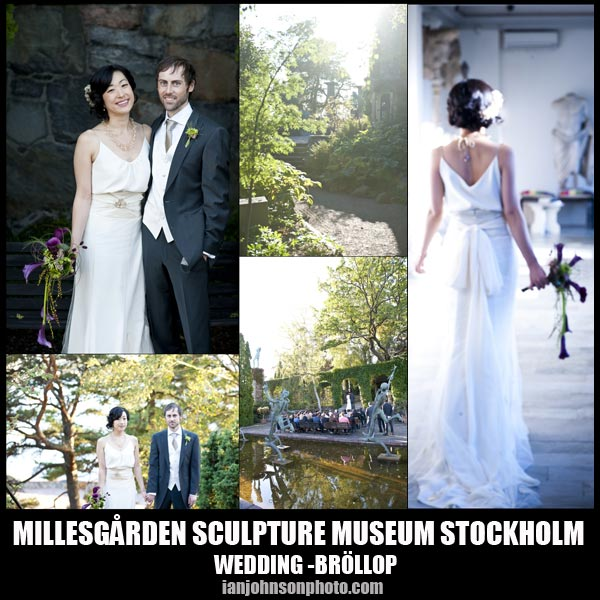 Bröllop Millesgården Lidingö