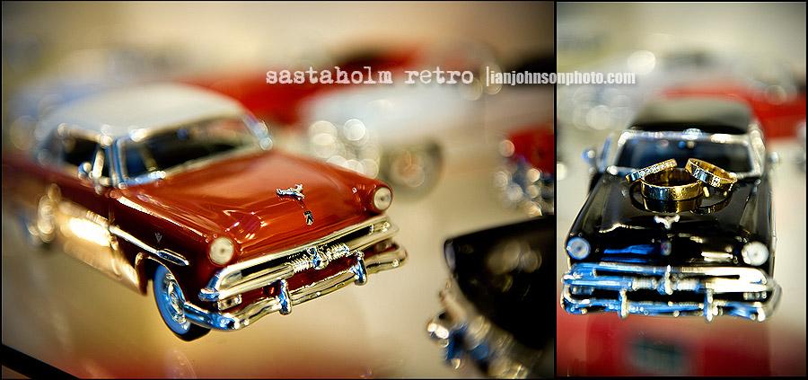 sästaholm bröllop  bilar