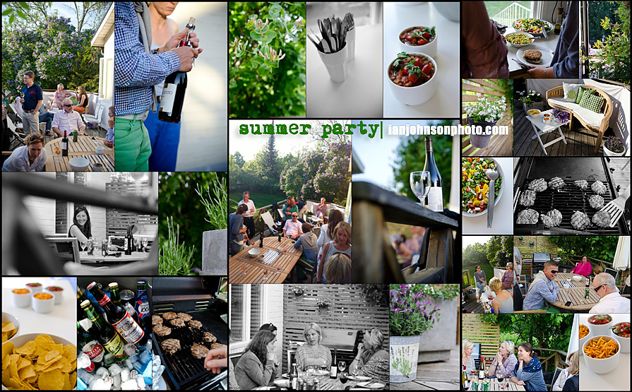 swedish summer party event