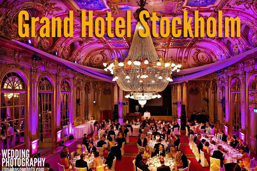 Grand hotel stockholm wedding