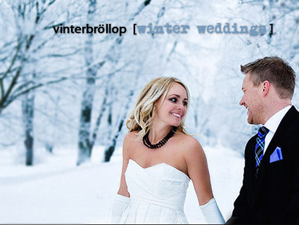 vinterbröllop winterweddings sweden