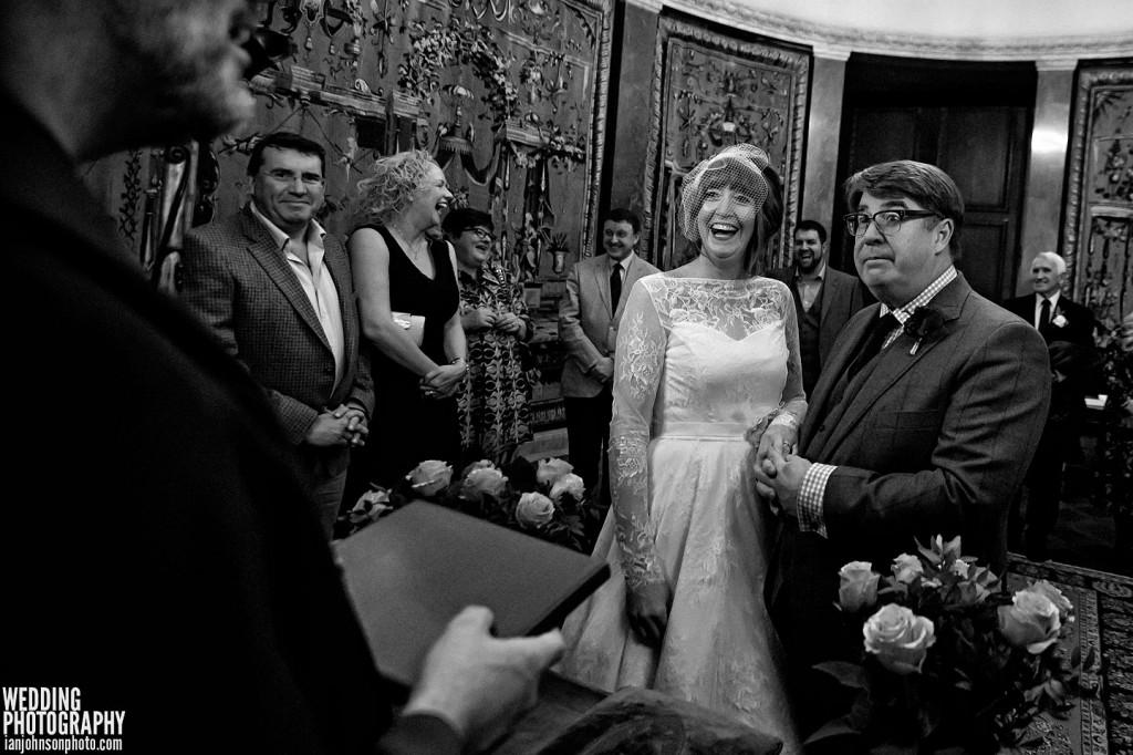 Bröllopsfotografering i Stadshuset