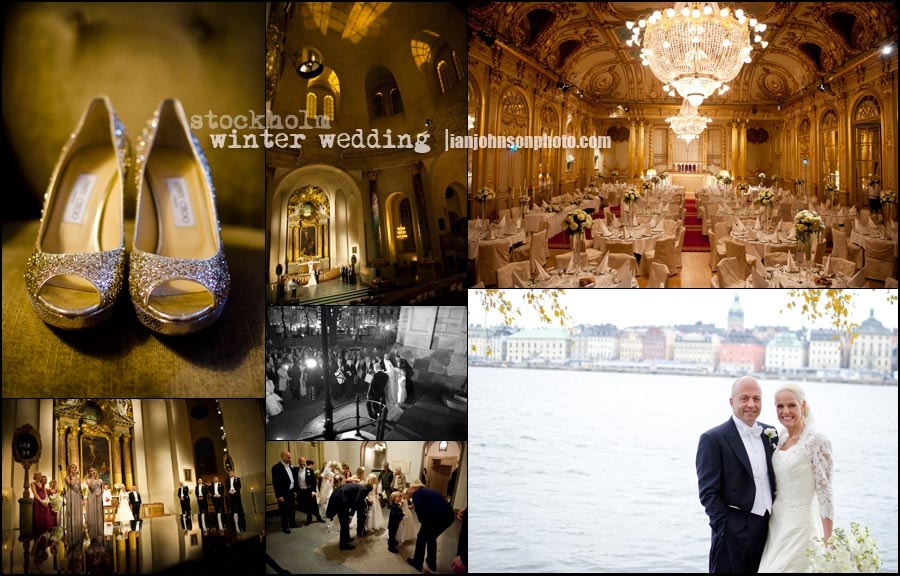 '' stockholm winter weddings ''