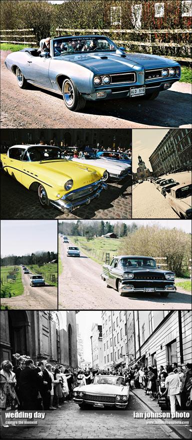 ''bröllopsbilar Stockholm classic cars''