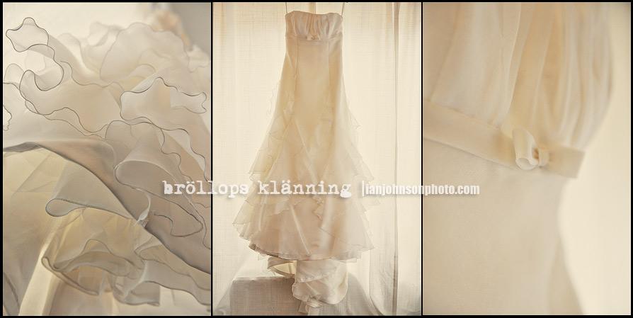 Brudklänning  Bröllopsklänning