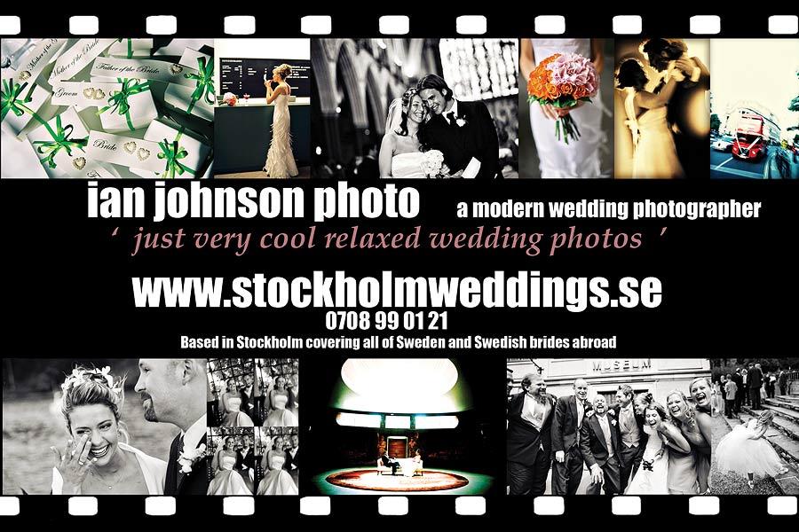 Allt om Bröllop Bröllopsfotografer Ian Johnson