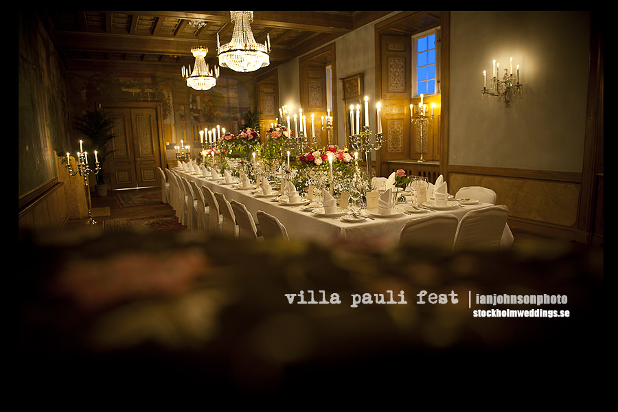 fest lokal Villa Pauli in Djursholm