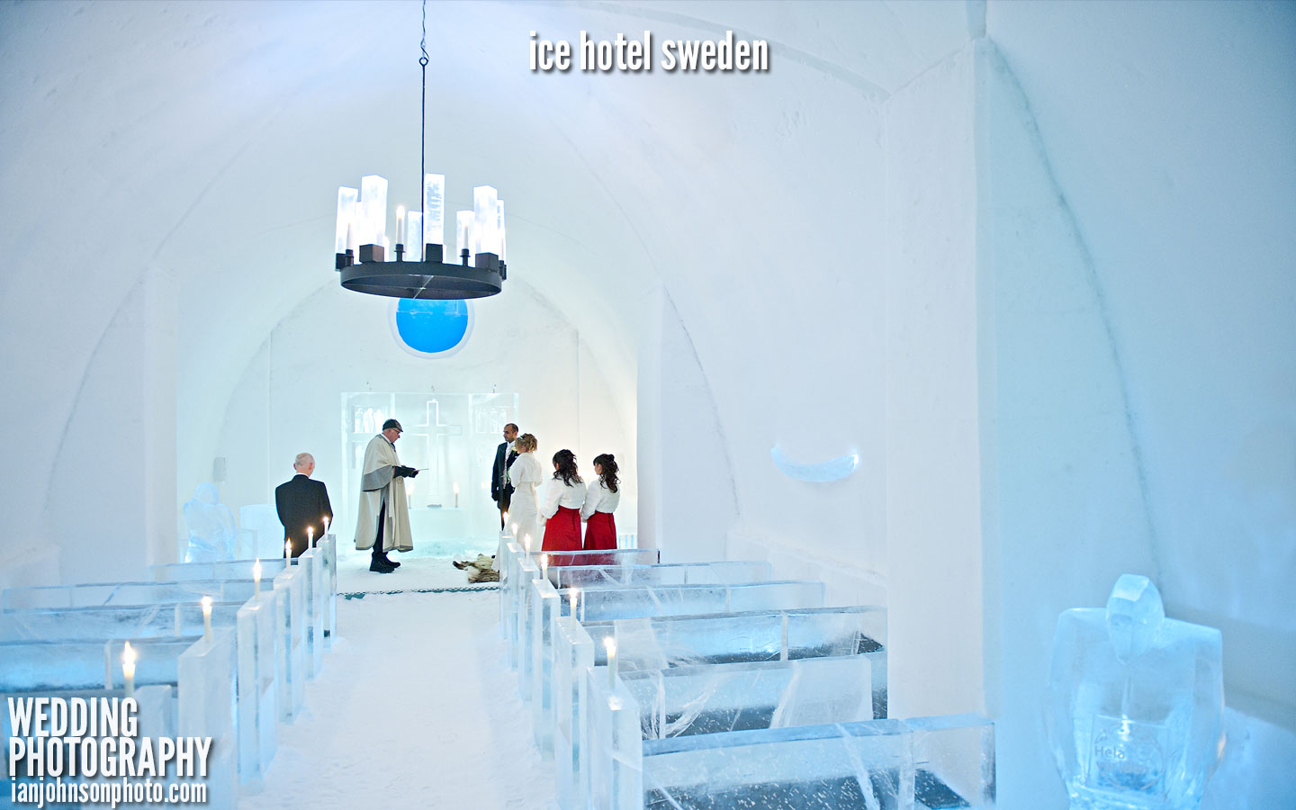 ice hotel church