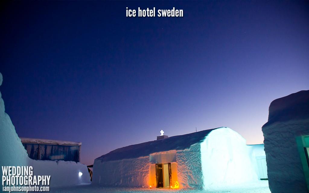 icehotel church