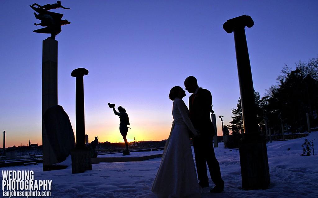 bröllopsbild millesgård