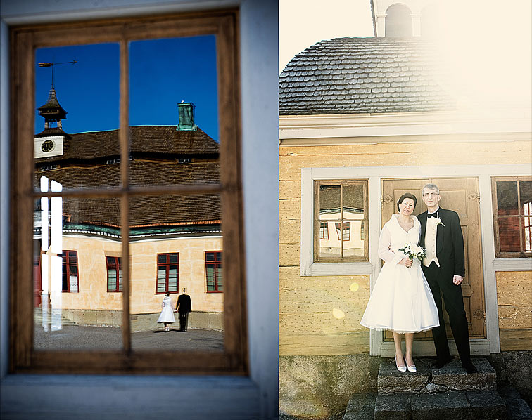 Skansen Seglora wedding portraits
