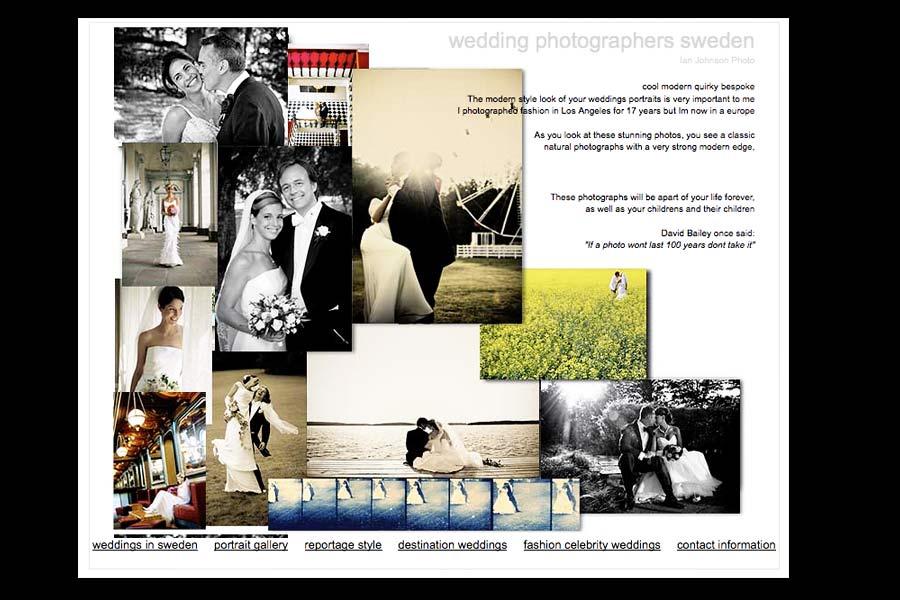 Stockholm wedding photographer portrait page photos