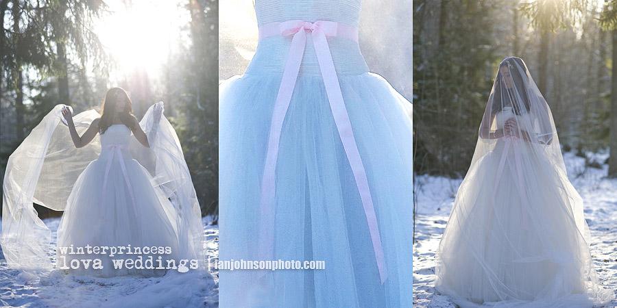 Vinter bröllopsklänningar