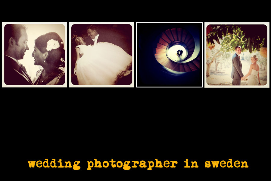 ''wedding photographer sweden''
