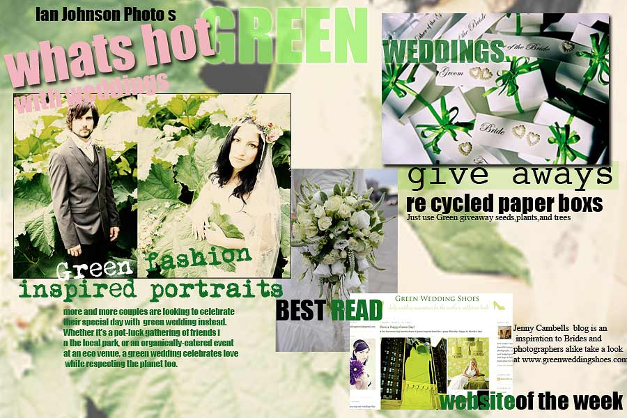 Tips Ideas for Green Eco Weddings